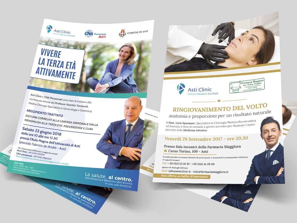 Asti Clinic – Adv – Locandine E Flyer
