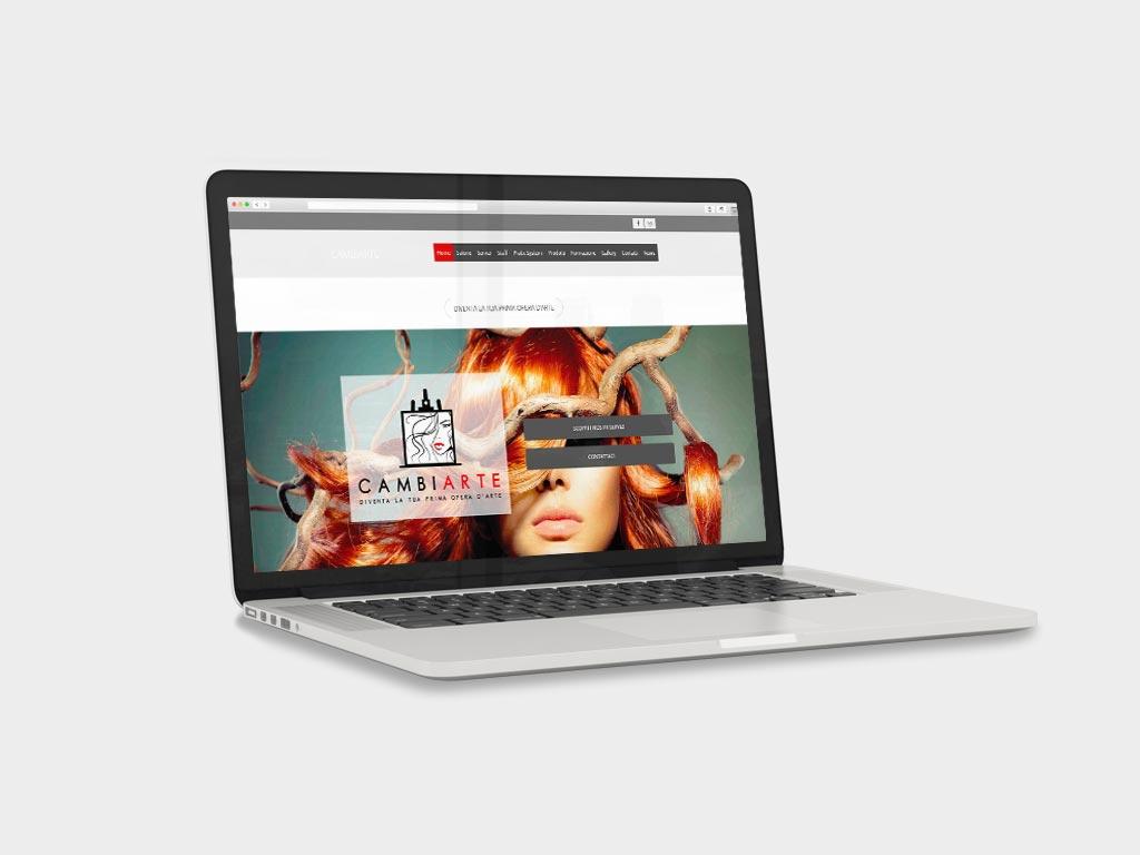 sito web vetrina parrucchieri